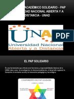 Proyecto Académico Solidario - PAP