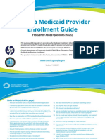 Medicaid Provider Enrollment Guide 2011
