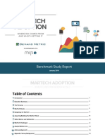 Martech Adoption Benchmark Report