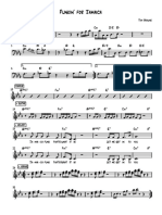 Jamaica Funk Lead Sheet