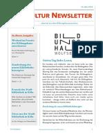 Kultur Newsletter 9