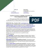 AspenTech announces availability of aspenONE V8 FINAL - for AT.com 12-10-2012.pdf
