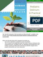 I.5 Pediatric Delirium PPT 2017