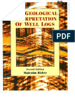 The Geological Interpretation of Well Logs by Rider