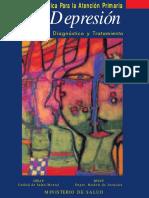 1999 Guia Clinica para la APS La Depresion Deteccion Diagnóstico y Tratamiento