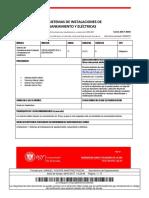 Instalaciones 1. Sistemas de Instalaciones de Abastecimiento(1)