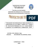 PROYECTO  OLGA MEL. AGRESIVIDAD.doc