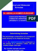 Chemical Formulas Lecture-6