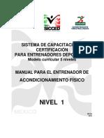 Sistema de Capacitación y Certificación Para Entrenadores Deportivos- 5 NIVELES