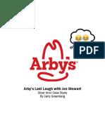 Arby's Last Laugh With Jon Stewart FINAL VERSION