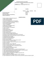 DIAGNOSTICO PSICOPEDAGOGÍA