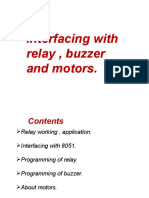 Rel Buzz + Motors