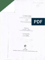 Concise Encylopedia of Pragmatics p892-901