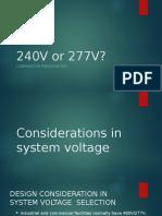 240 or 277