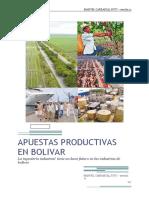 Ensayo Apuestas Productivas en Bolivar