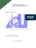 Universidad Rural de Guatemala Ingles