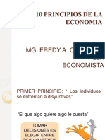 Los 10 Principios de La Economia - Sesion 2 Microeconomia