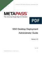 MetaPass SSO Deployment Guide 4 6 Rev0109