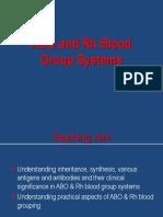 ABO Rh Groups