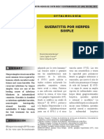 Cornea Herpes