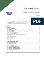 Pyraf Tutorial