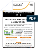209 RMO 2016 Rajasthan Solution v2