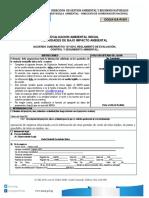 Evaluacion Ambiental Inicial Proyecto