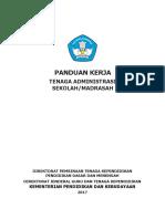 Buku Panduan Kerja Tenaga Administrasi Sekolah
