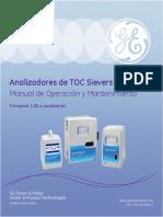 Analizadores de TOC Sievers M5310 C Manual de Operación y Mantenimiento