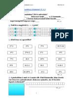 2. osztályos matematikai feladatok (3.A.).doc