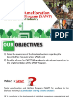 Social Amelioration and Welfare Program (SAWP) Presentation - 21 July 2017