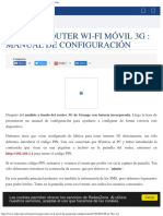 Orange Router Wi-Fi Móvil 3G Manual de Configuración