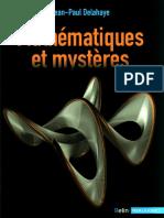 Mathématiques Et Mystères (2016) - Jean-Paul Delahaye