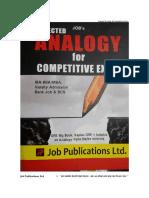 GRE Big Book Analogy 21-24