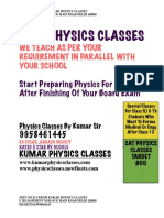 Cbse Physics Classes by Kumar Sir