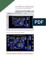 Circuito impreso (PCB) con componentes