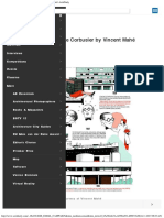 Infographic #the Life of Le Corbusier