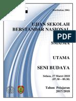 Cover Soal Usbn & Lj Seni Budaya