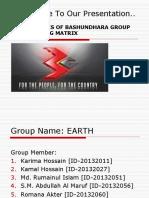 Presentation on SBU Analysis of Bashundhara Group