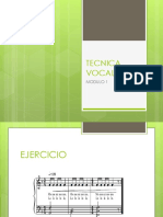 TECNICA VOCAL EJERCCIOS 2018.ppt