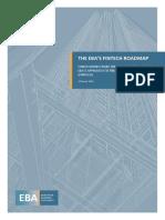 EBA FinTech Roadmap 3 18
