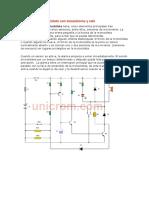 Alarma para motocicleta con transistores y relé