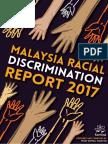 Komas Racial Discrimination Report 2018
