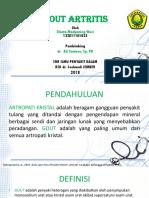 Kuliah 9.4 - Gout Artritis (Dr. Ali Antosa)
