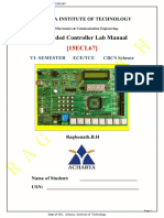 Embedded Controller Lab Manual 15ECL67