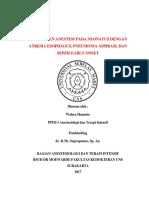 Manajemen Anestesi laparoskopi