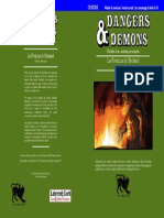 CHDDX3 La Fortezza di Gholand (serie Dangers & Demons) Copertina Unica