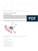 Fungsi Solenoid Valve(Group, And PPC Accumulator) Komatsu Excavator Pc 200-8