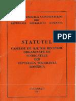 Statutul  C.A.R.  1984
