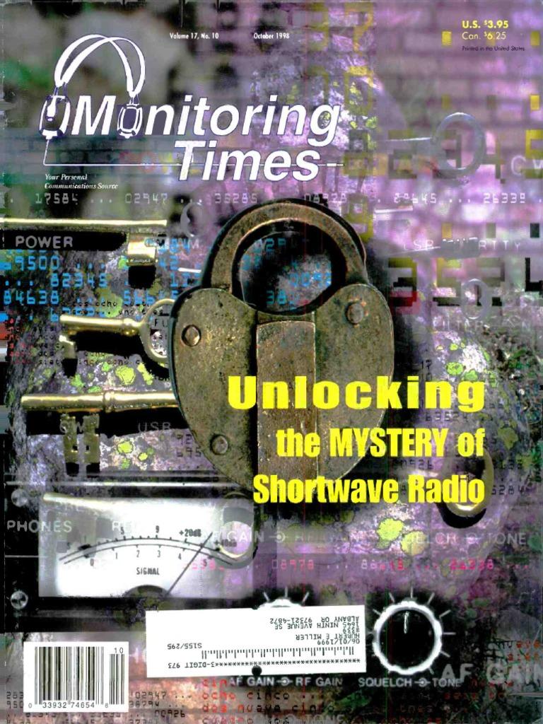 Monitoring Times 1998 10 | Am Broadcasting | Radio